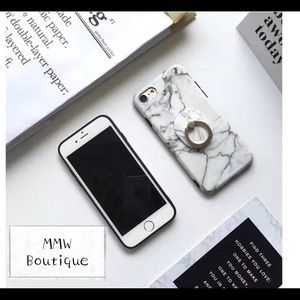 Other - 🆕Marble Print iPhone 6/6S Case w/ Matching iRing